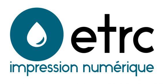 Logo ETRC impression numérique reprographie 94